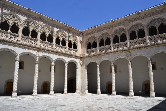 Patio del Museo Nacional de Escultura de Valladolid