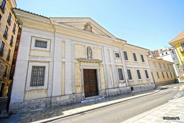 Fachada Museo San Joaquín y Santa Ana Valladolid museo