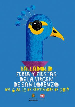 cartel fiestas valladolid 2019