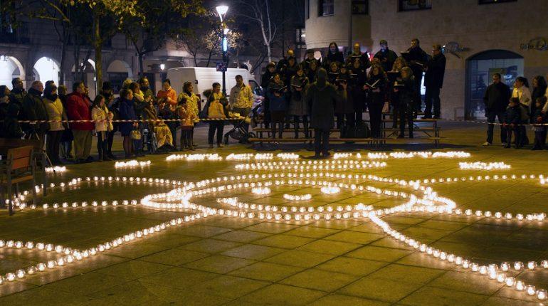 Día de las velitas Valladolid