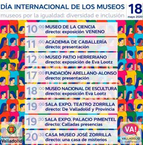 día internacional de los museos en valladolid